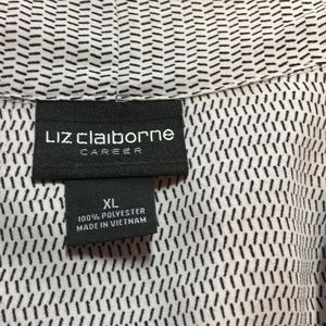 Liz Claiborne Tops - Liz Claiborne Sleeveless Career Blouse Size XL
